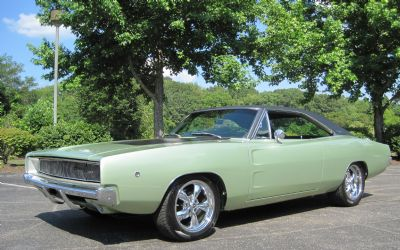 1968 Dodge Charger Rotisserie Resto !! Spectacular Show Car - 383 / Console Shifter (one OF 1) $88,900