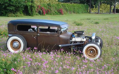 1929 Ford Tudor 'patina' Hot Rod Convertible
