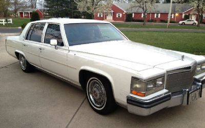 1988 Cadillac Brougham Luxury Sedan