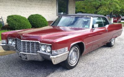 1969 Cadillac Sorry Just Sold!!! Deville Convertible