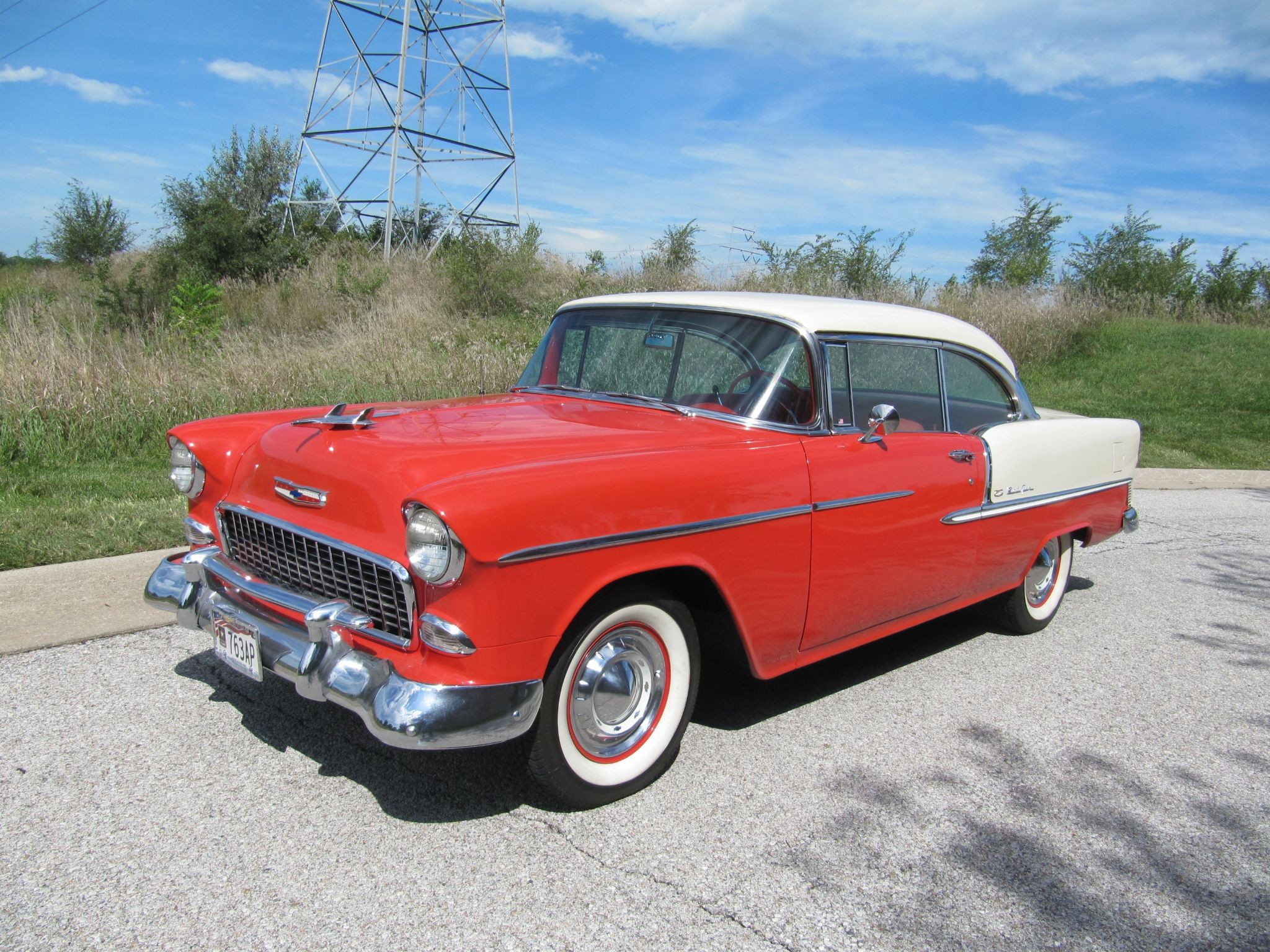 1955 BEL AIR SPORT COUPE Thumbnail 1
