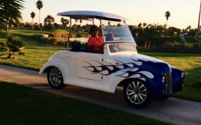 2020 1939 Ford Roadster Golf Cart